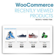 WooCommerce Recently Viewed Products