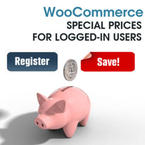 Woocommerce Special Prices For Logged-In Users