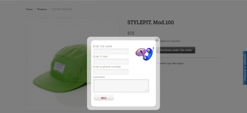WooCommerce Under the order Checkout Form