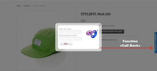 Woocommerce Function «Call back»