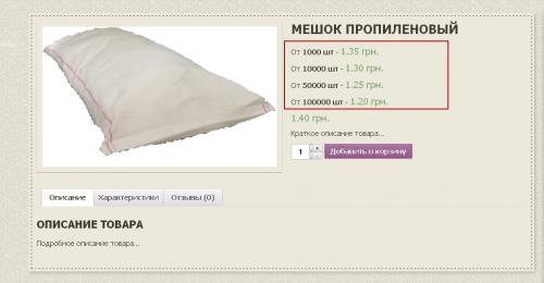 Woocommerce. Оптовые цены. Страница товара