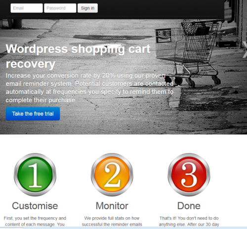 Basket Recovery WooCommerce