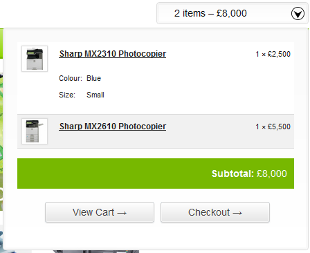 woocommerce-drop-down-cart-widget-screenshot-1